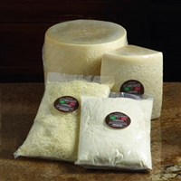 Cubeddu Pecorino Romano Cheese 1/15# Wheel Quarter