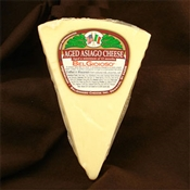 BelGioioso Aged Asiago Cheese 10# Case of Random Weight Wedges