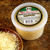 BelGioioso American Grana Cheese 12/5oz Cups Shredded
