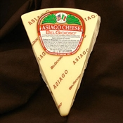 BelGioioso Asiago Cheese 10# Case of Random Weight Wedges