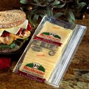 BelGioioso Asiago Cheese - 12/1# Ziplock Asiago Cheese Stack Packs