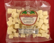 BelGioioso Asiago Cheese 12/12oz Bags Cubed