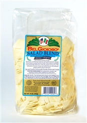 Belgioioso Salad Blend Cheese (Shaved) 4/5# Bags