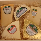 Italian Gourmet Cheese Sampler - 10 pounds! (5/2# Wedges)