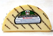 BelGioioso Extra Sharp Provolone Cheese 10# Case of Random Weight Wedges