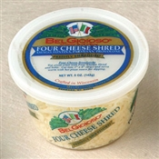 BelGioioso Four Cheese Shred 12/5oz Cups
