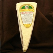 BelGioioso Fontina Cheese Wedges - 10# Case of Random Weight Wedges