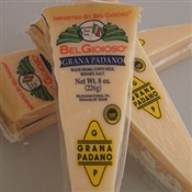 BelGioioso Imported Grana Padano Cheese 12/8oz Exact Weight Wedges