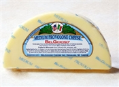 BelGioioso Medium Provolone Cheese 10# Case of Random Wedges