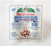 BelGioioso Fresh Mozzarella Cheese 6/2# Logs thermoform (12#)