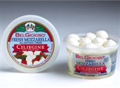 BelGioioso Fresh Mozzarella Cheese 6/8oz Cups 1/3oz Ciliegini (3#)
