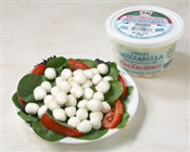 BelGioioso Fresh Mozzarella Cheese 6/8oz Cups 2.5g Pearls (3#)