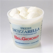 BelGioioso Fresh Mozzarella Cheese 2/3# Tubs Ovolini 4oz balls (6#)