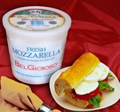 BelGioioso Fresh Mozzarella Cheese 2/3# Tubs Bocconcini 1.7oz balls (6#)