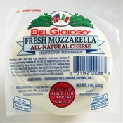 BelGioioso Fresh Mozzarella Cheese 12/8oz Balls thermoform (6#)