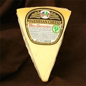 BelGioioso Vegetarian Parmesan Cheese 10# Case of Random Weight Wedges