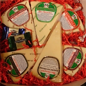 BelGioioso 3.5# Gourmet Italian Grating Cheeses Gift Box from Wisconsin